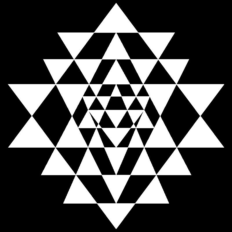 Shakta Joogakoulu Turku logo valkoinen